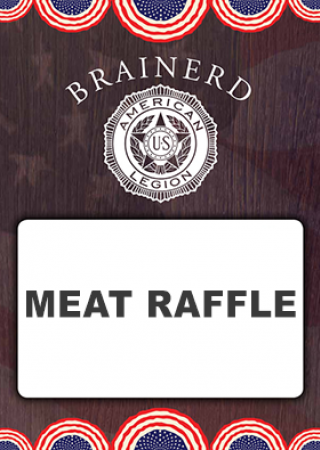 Legion-meat-raffle