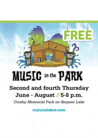 Crosby music in the park