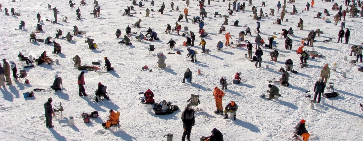 36 ice fishing extravaganza facts to celebrate 25 years for Ice fishing extravaganza