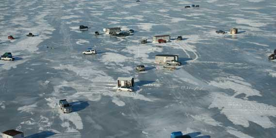 Mille lacs lake winter fishing regulations took effect dec 1 for Lake mille lacs ice fishing