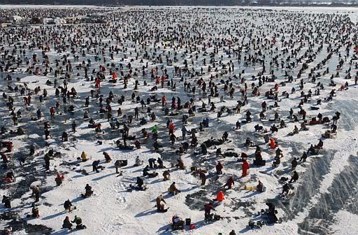 Brainerd ice fishing extravaganza postponed to february 6 for Brainerd ice fishing
